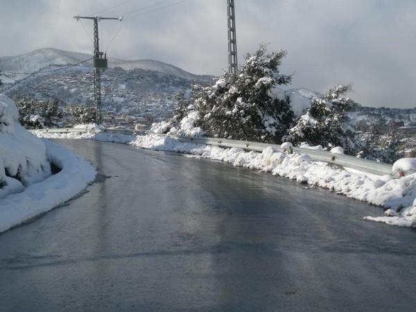 Qu'il est doux, qu'il est doux, quand il neige à Akfadou